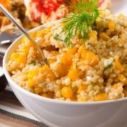 White Quinoa Fried Rice