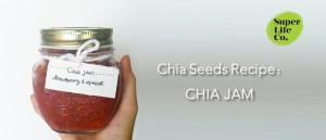 Chia seeds with Strawberry and Apricot Jam