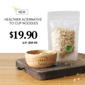Instant quinoa (freeze dried)